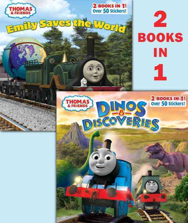 Dinos & Discoveries / Emily Saves the World Deluxe Pictureback By Random House (COR)